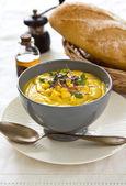 Corn soup — Stock Photo