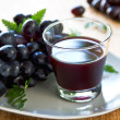 Stock Photo: Grape juice