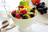 Fruits salad in a bowl — Stockfoto