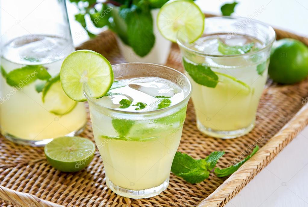 Как приготовить лимонад лайм