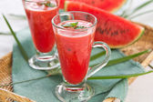 Water melon smoothie — Stock Photo