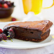 Chocolate truffle torte — Stock Photo #41129269