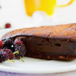 Chocolate truffle torte — Stock Photo #41129423