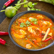 Sour and Spicy soup with Prawn — Stock Photo #41192655