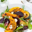 Grilled vegetables with feta cheese salad — Stock Photo #41246655