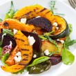Grilled vegetables with feta cheese salad — Stock Photo #41246809