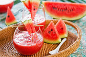 Watermelon juice — Stock Photo