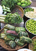 Market in Yangon, Burma — Stock Photo