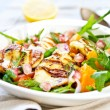 Halloumi with Orange and Rocket salad — Stock Photo #41363647