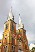 Saigon notre-dame basilica — Stok fotoğraf