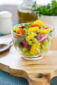 Beans and Corn salad — Stock Photo