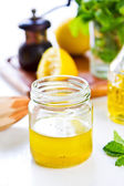 Lemon dressing — Stock Photo