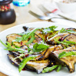 Grilled Aubergine salad with Rocket — Stock Photo #46945321