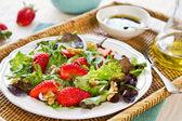 Salada morango — Fotografia Stock