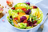 Orange salad — Foto Stock
