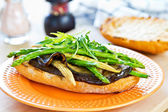Grilled vegetables sandwich — Stok fotoğraf