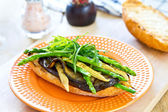 Grilled vegetables sandwich — Foto de Stock