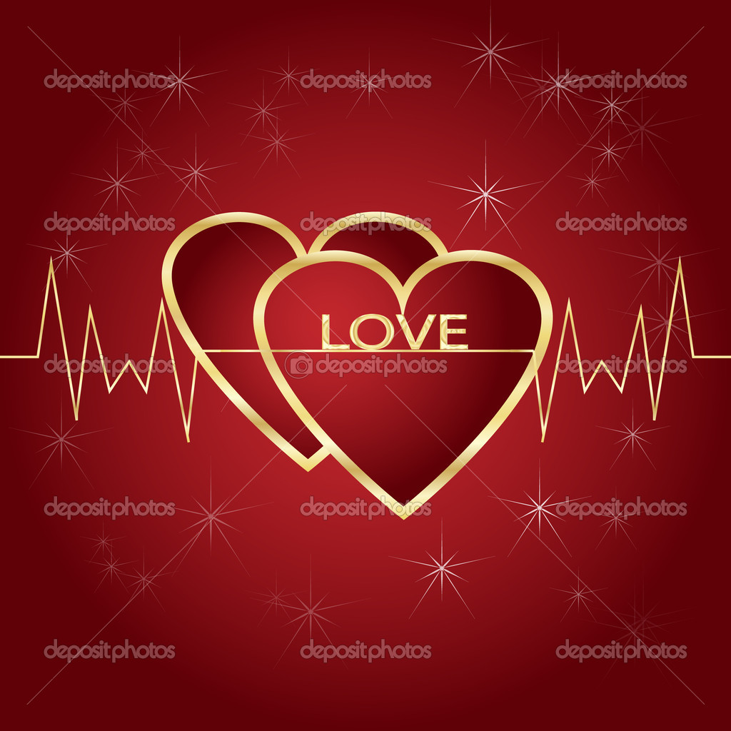 Valentine card  Stock Vector #18971215