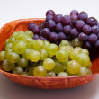 Grapes in a bowl — Stock Photo #18167623