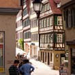 Fachwerk house in Tuebingen — Stock Photo #12850473