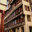 Fachwerk house in Tuebingen — Stock Photo