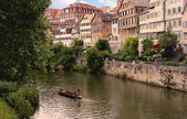 Tubingen, Neckar — Stock Photo