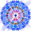 Electric Mandala — Stockfoto #25855259