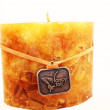Decorative candle — Stock Photo #12668203