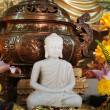 Stock Photo: Buddhist statue