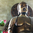 Stock Photo: A buddhist statue