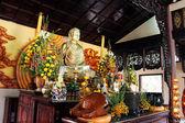Una estatua budista — Foto de Stock