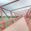 Bridge to Lorong Halus Wetland, Singapore — Stock Photo #12328599