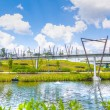 Stock Photo: Kelong Bridge, Punggol Waterway, Singapore