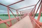 Ponte lorong halus Pantanal, Singapura — Fotografia Stock