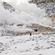 Sulphur fumes and volcanic activity, Hokkaido — Stock Photo #12669551