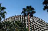 Spiky profile of Esplanade Theatre, Singapore — Stock Photo