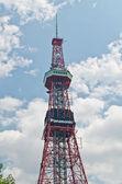 Nhk radio tower, sapporo, hokkaido, japón — Foto de Stock