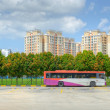 Public commuter bus — Stockfoto #12681468