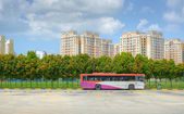 Public commuter bus — Stock Photo