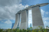 Marina Bay Sands and Waterfront, Singapore — Stock Photo