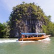 Stock Photo: Boats on mangrove tour