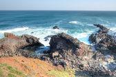 Ocean view at Seopjikoji, Jeju Island — Stock Photo