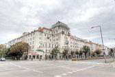 Typical road junction in Vienna — Stok fotoğraf