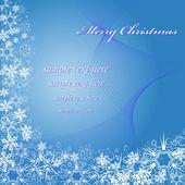 Karte weihnachten — Stockvektor