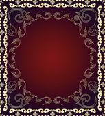 Seamless ornamental wallpaper — Stock Vector