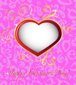 Happy valentines day cards — Stock Vector