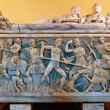 Sarcophagus with Calydoniboar hunt — Foto Stock #12625679