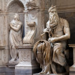 Moses by Michelangelo — Stock Photo