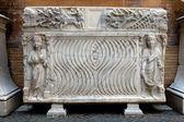 Sarcofago romano anceint — Foto Stock