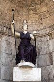 Statue of Goddess Rome — Stock Photo